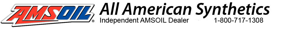 All American Synthetics Logo - Independent AMSOIL Dealer - 1-800-717-1308 - Call for special pricing and discounts.