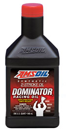 dominator synthetic 2-stroke racing oil